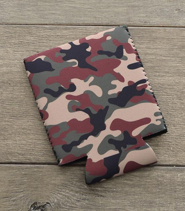 New Arrival :: Wholesale Tipi Camo Print Drink Sleeve