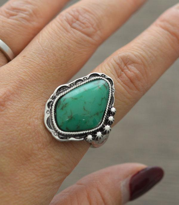 New Arrival :: Wholesale Tipi Turquoise Western Ring