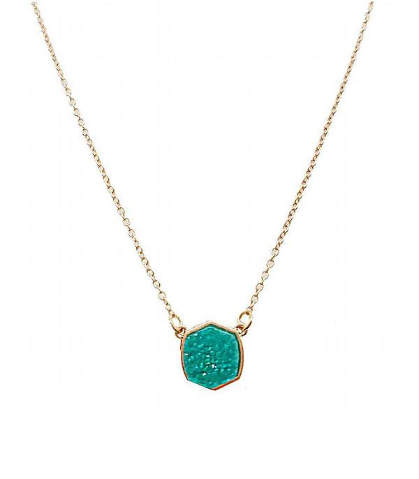 New Arrival :: Wholesale Druzy Pendant Necklace