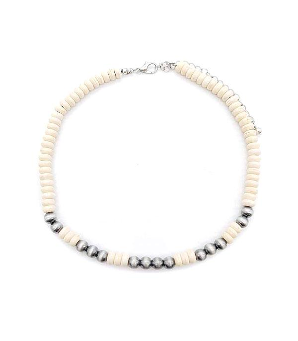 New Arrival :: Wholesale Navajo Semi Stone Bead Choker