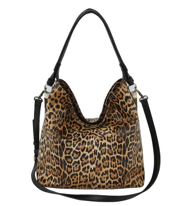 New Arrival :: Wholesale Leopard Print Shoulder Bag Wallet Set