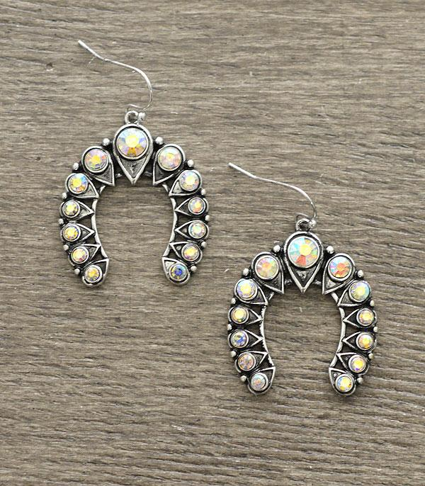 New Arrival :: Wholesale Western Squash Blossom Dangle Earrings