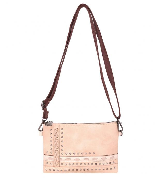 New Arrival :: Wholesale Montana West Studded Crossbody