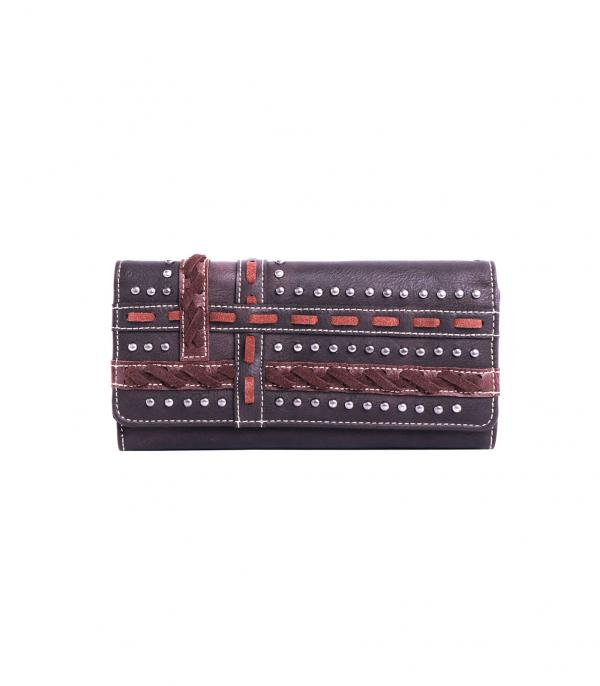 New Arrival :: Wholesale Montana West Studded Wallet