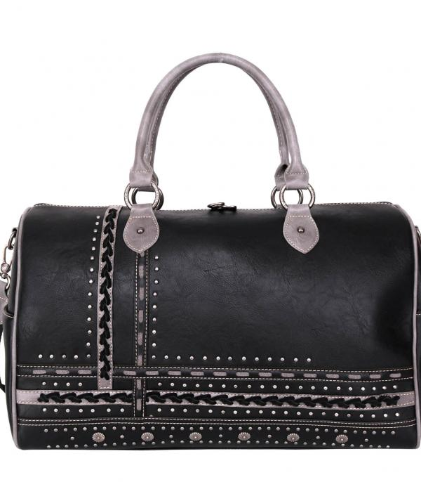New Arrival :: Wholesale Montana West Studded Duffle Bag
