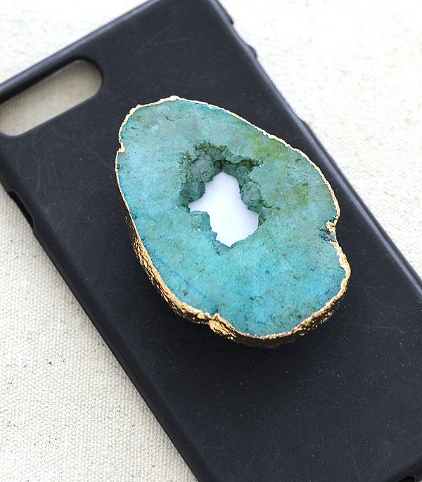 New Arrival :: Wholesale Druzy Stone Phone Grip