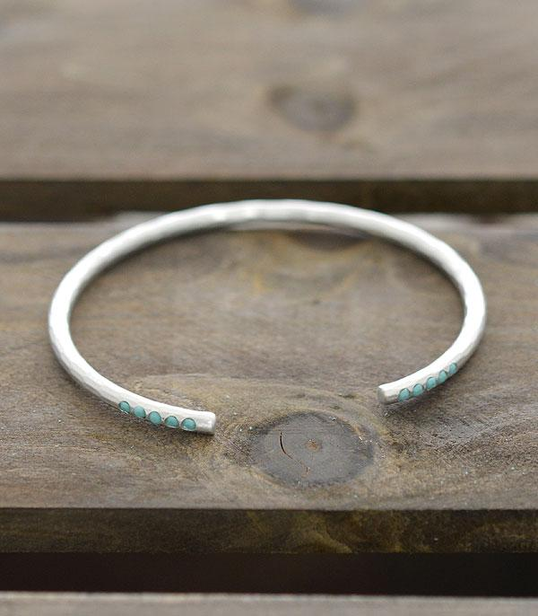 New Arrival :: Wholesale Turquoise Pave Open Brass Cuff