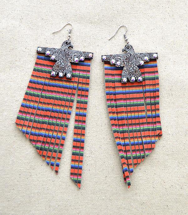 New Arrival :: Wholesale Tipi Thunderbird Wood Tassel Earrings