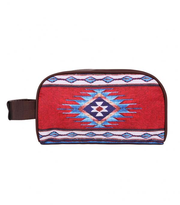 New Arrival :: Wholesale Montana West Aztec Travel Pouch