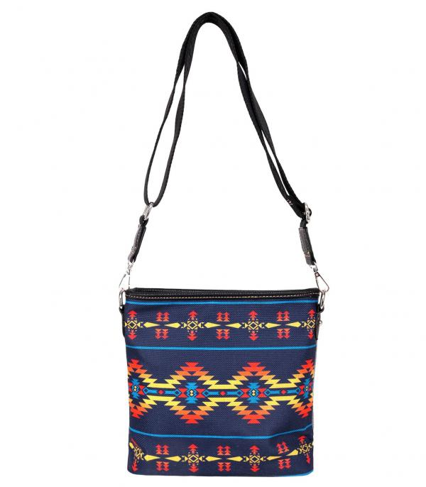 New Arrival :: Wholesale Montana West Aztec Canvas Crossbody