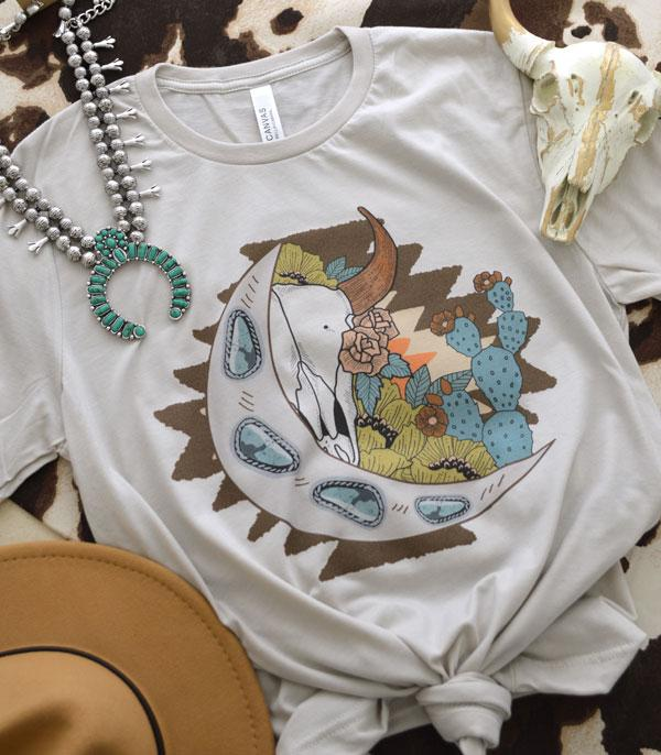 New Arrival :: Wholesale Western Wild West Graphic T-Shirt