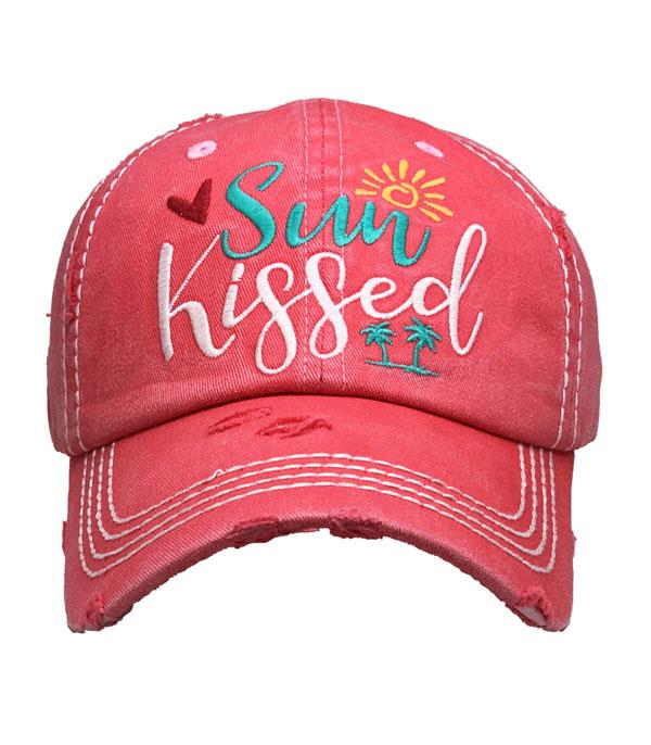 New Arrival :: Wholesale Sun Kissed Vintage Ballcap