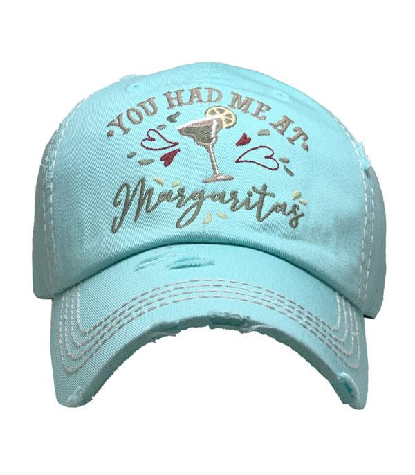 New Arrival :: Wholesale You Had Me At Margaritas Vintage Ballcap