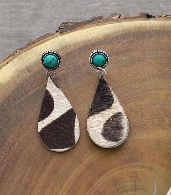 New Arrival :: Wholesale Handmade Fur Animal Print Earrings