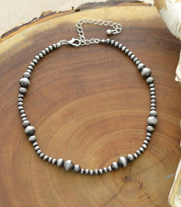 New Arrival :: Wholesale Navajo Pearl Bead Choker Necklace