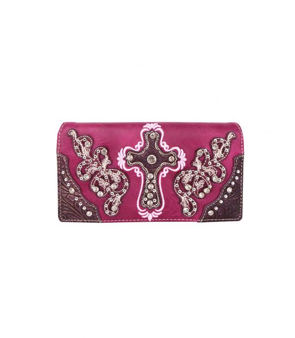New Arrival :: Wholesale Montana West Cross Wallet