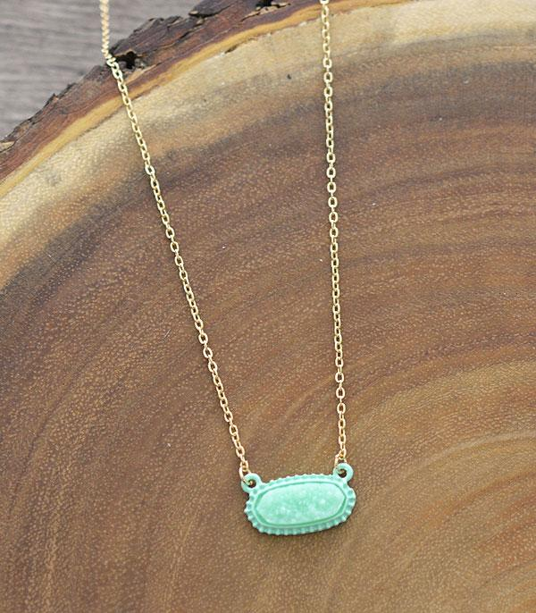 New Arrival :: Wholesale Druzy Fashion Necklace
