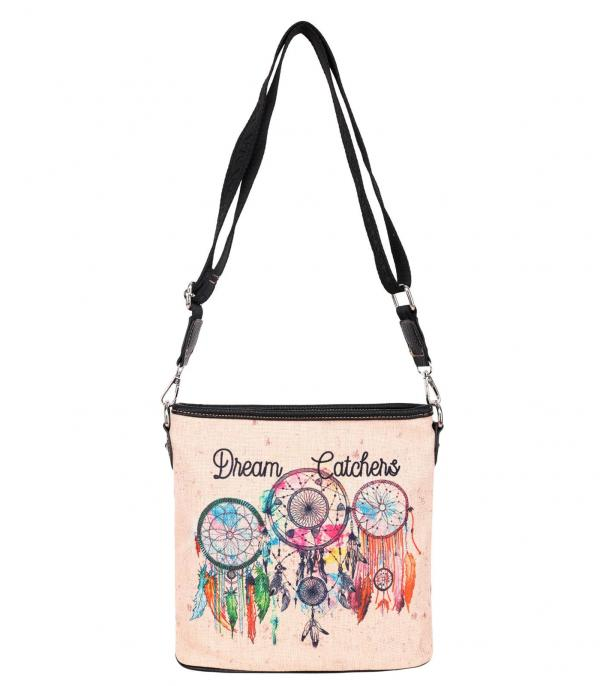 New Arrival :: Wholesale Montana West Dream Catcher Crossbody