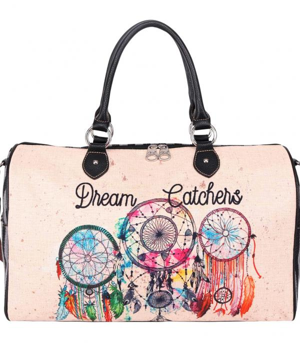 New Arrival :: Wholesale Montana West Dream Catcher Weekender Bag