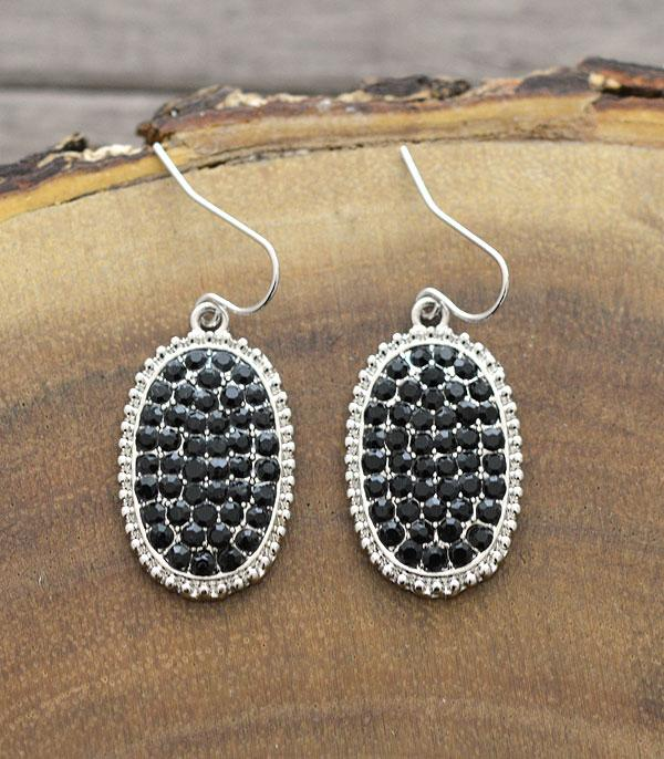 New Arrival :: Wholesale Rhinestone Dangle Earrings