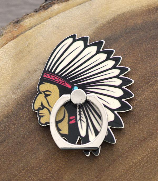 PHONE ACCESSORIES :: Wholesale Tipi Indian Chief Phone Finger Grip
