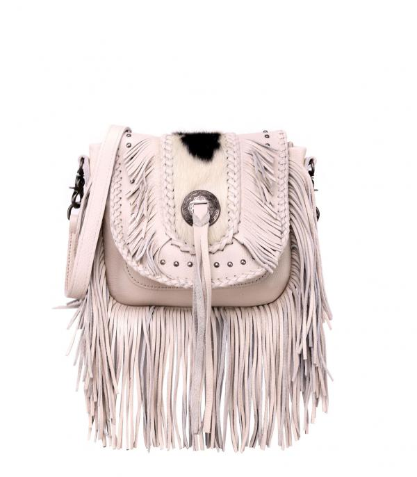 New Arrival :: Wholesale Montana West Leather Fringe Crossbody