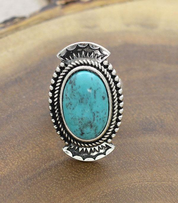 <font color=Turquoise>TURQUOISE JEWELRY</font> :: Wholesale Turquoise Western Stretch Ring