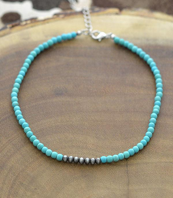 New Arrival :: Wholesale Navajo Stone Bead Choker