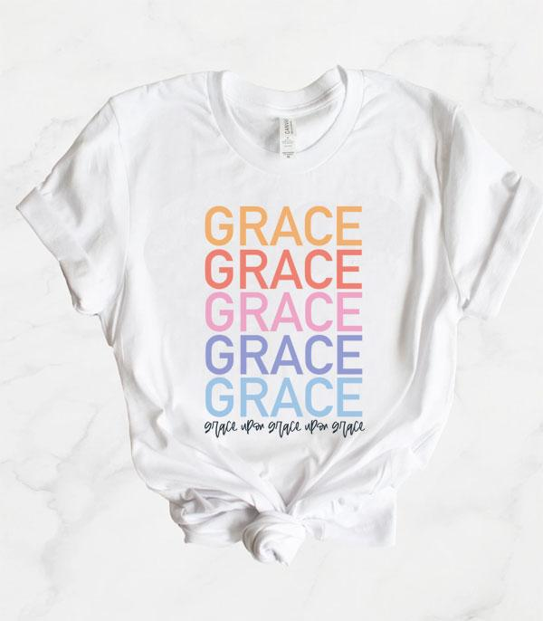 New Arrival :: Wholesale Grace Upon Grace Easter Graphic Tee