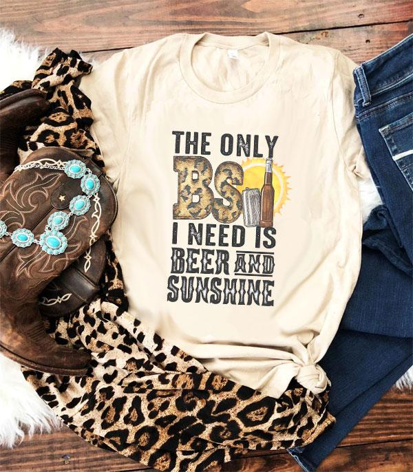 New Arrival :: Wholesale Only BS I Need Country Western Tshirt