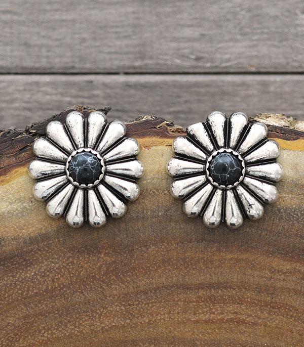 New Arrival :: Wholesale Western Concho Post Earrings