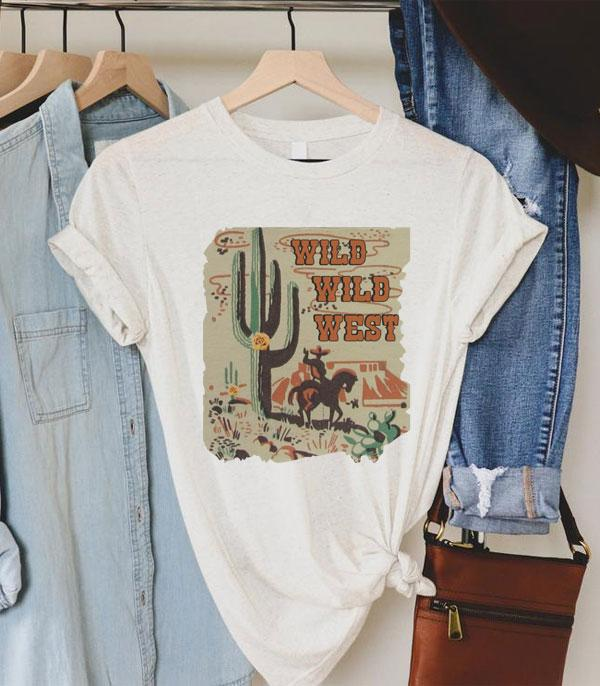 New Arrival :: Wholesale Wild Wild West Western T-Shirt