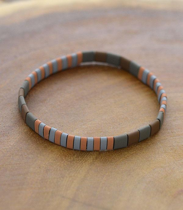 New Arrival :: Wholesale Multicolor Block Soft Enamel Bracelet