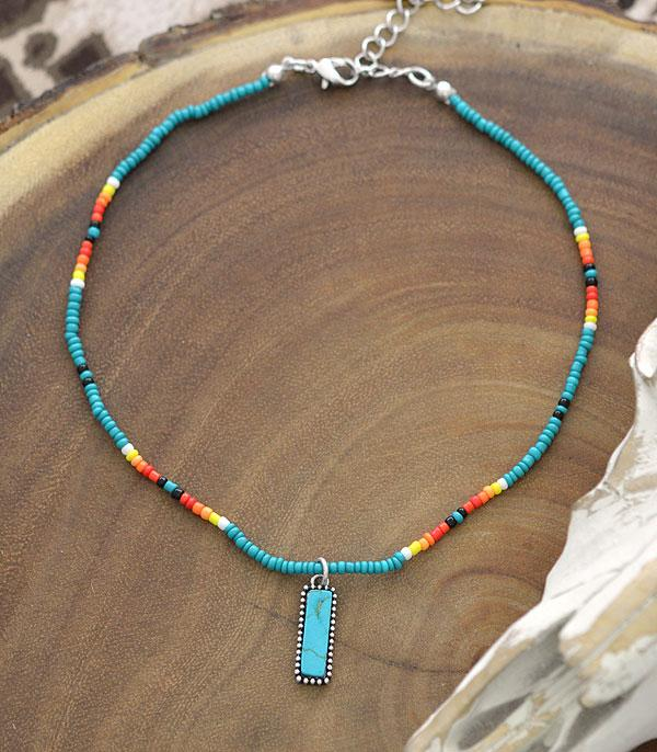 New Arrival :: Wholesale Western Navajo Seed Bead Choker Necklace