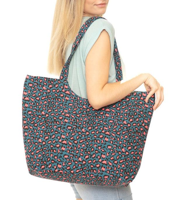 New Arrival :: Wholesale Leopard Print Tote Bag