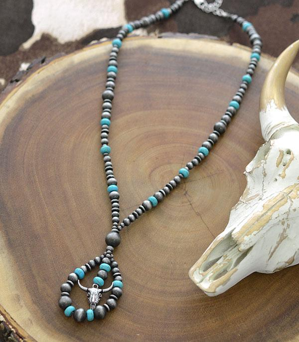 New Arrival :: Wholesale Navajo Pearl Bead Necklace