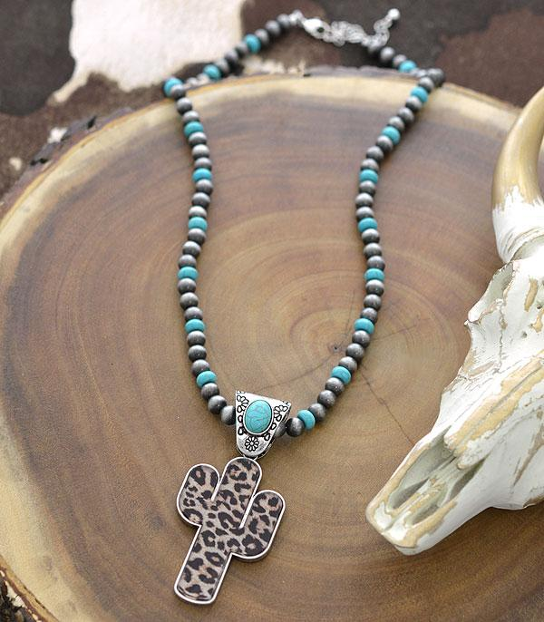 New Arrival :: Wholesale Western Navajo Pearl Cactus  Necklace
