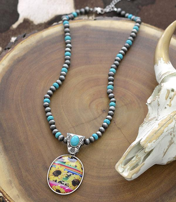 New Arrival :: Wholesale Western Navajo Pearl Bead Necklace