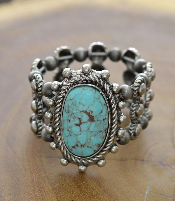 New Arrival :: Wholesale Genuine Stone Navajo Bead Bracelet