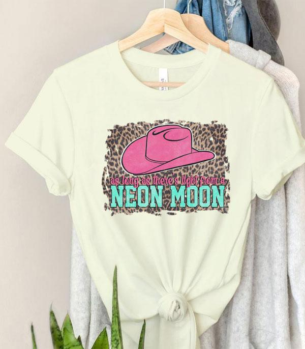 New Arrival :: Wholesale Western Neon Moon Short Sleeve Tshirt