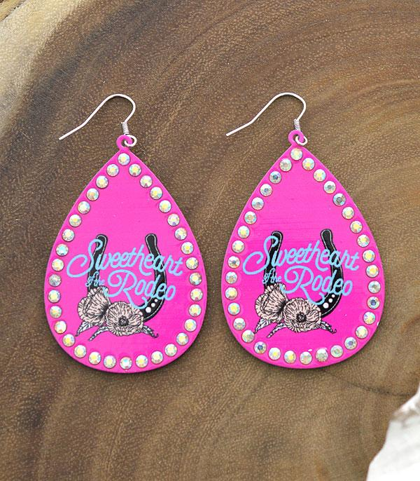 New Arrival :: Wholesale Sweetheart Rodeo Western Earrings