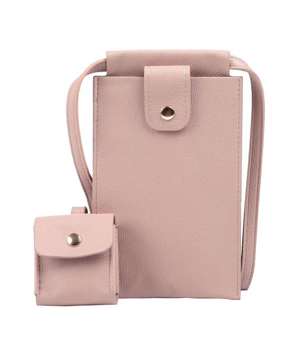 New Arrival :: Wholesale Cellphone Airpod Wallet Crossbody Set