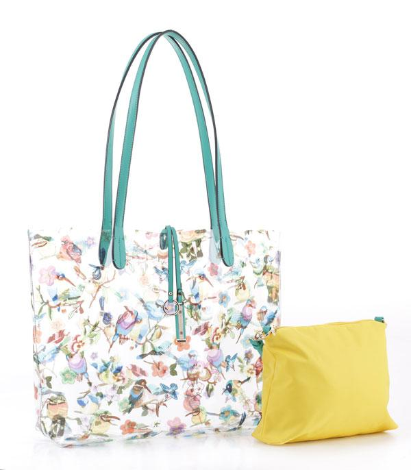 New Arrival :: Wholesale 2 In 1 Floral Tote Bag