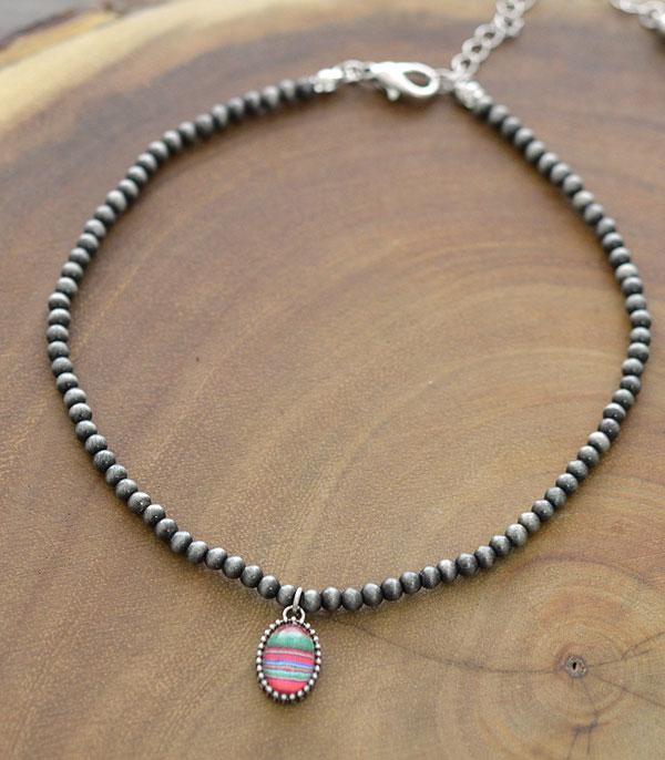 New Arrival :: Wholesale Small Serape Pendant Navajo Choker