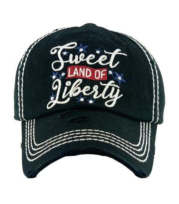 New Arrival :: Wholesale Sweet Land of Liberty Vintage Ballcap
