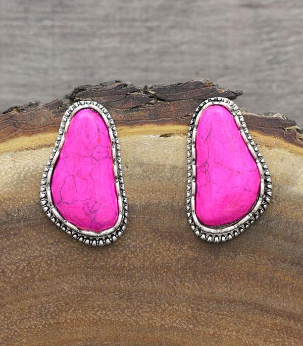 New Arrival :: Wholesale Western Turquoise Post Earrings