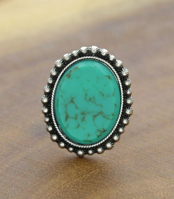New Arrival :: Wholesale Tipi Western Turquoise Cuff Ring