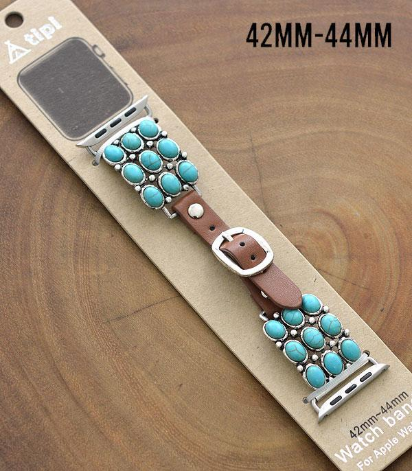 New Arrival :: Wholesale Tipi Western Turquoise Apple Watch Band