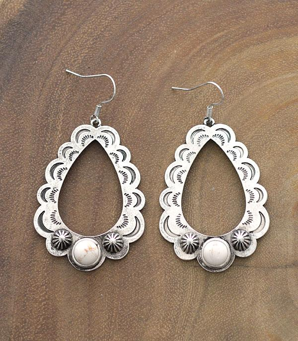 New Arrival :: Wholesale Western Design Teardrop Earrings