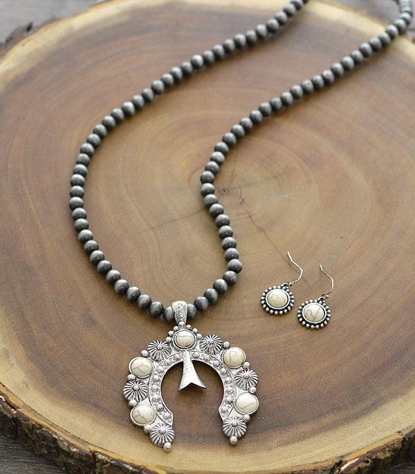 New Arrival :: Wholesale Western Squash Blossom Necklace Set